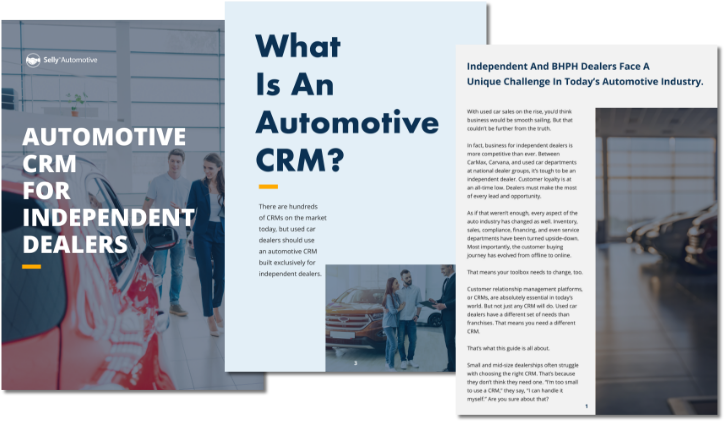 Automotive CRM Guide